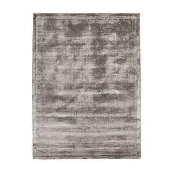 tapis en viscose gris emil home spirit