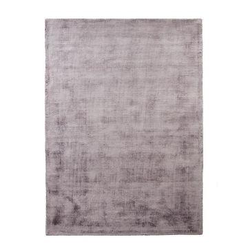 tapis en viscose violet emil home spirit