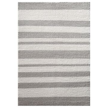 tapis moderne gris taupe et blanc breeze down to earth