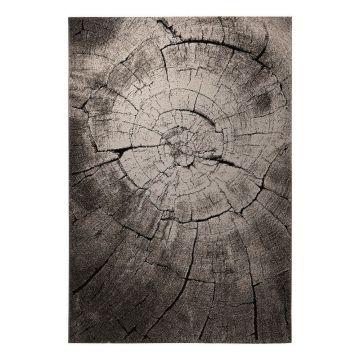 tapis moderne marron wecon wild oak