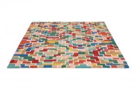 tapis tetirs estella multicoloré - brink&campaman