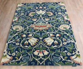 tapis lodden handtufted indigo / mineral - avalnico