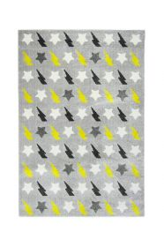 tapis enfant bolt jaune 120x170 - nattiot