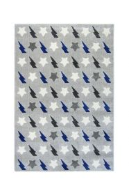 tapis enfant bolt bleu 120x170 - nattiot
