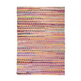 tapis moderne prism multicolore the rug republic