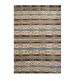 tapis moderne bleu yukon the rug republic