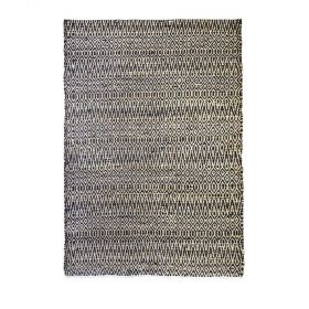 tapis moderne pasadena noir the rug republic
