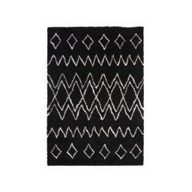 tapis moderne oran noir decoway