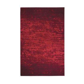 tapis moderne camaieu rouge decoway