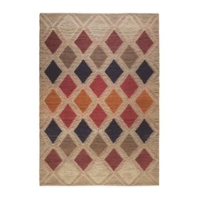 tapis moderne jovan multicolore the rug republic