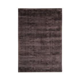 tapis moderne city gloss chocolat decoway