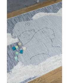 tapis enfant polar ours - art for kids
