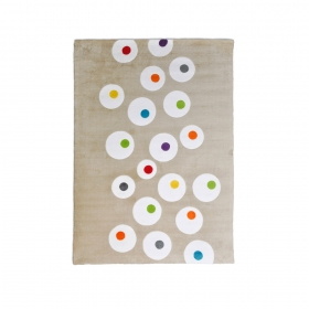 tapis enfant pierrot multicolore