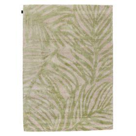 tapis moderne vert tropics angelo