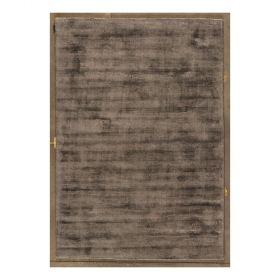 tapis moderne erased angelo gris foncé