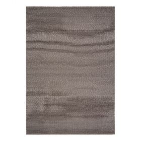 tapis moderne ligne pure laine marron dream