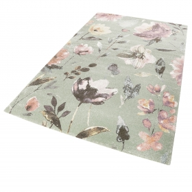 tapis summer breeze vert - wecon