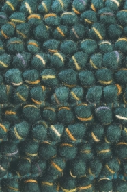 tapis cobble bleu et vert - brink&campaman