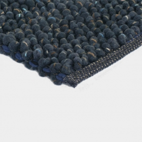 tapis cobble bleu - brink&campaman