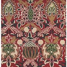tapis granada handtufted rouge / noir - avalnico
