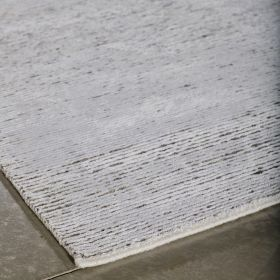 tapis moderne gris clair majestic angelo
