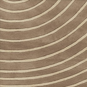 tapis zen taupe arte espina tufté main