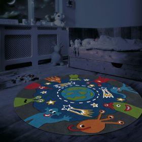 tapis enfant glowy arte espina espace