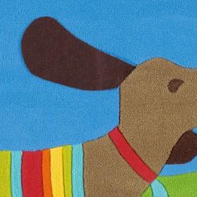 tapis enfant kids chien arte espina