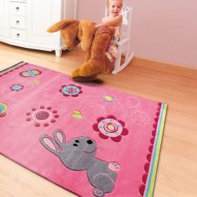 tapis rose pour enfant arte espina kids