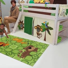 tapis enfant kids vert arte espina