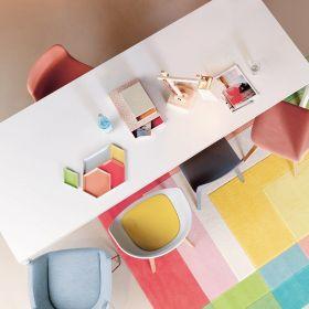 tapis splash moderne arte espina multicolore