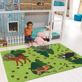 tapis enfant kids arte espina foret