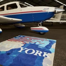 tapis down town arte espina city new york
