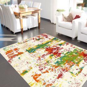 tapis multicolore artiste arte espina