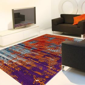 tapis folk moderne arte espina rouge