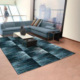 tapis bleu screen mozaic arte espina