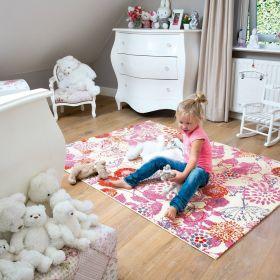 tapis enfant kids arte espina fleur