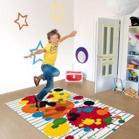 tapis enfant kids arte espina peinture