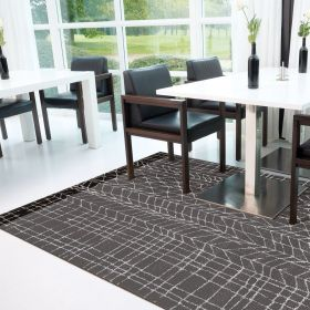 tapis moderne line up gris arte espina