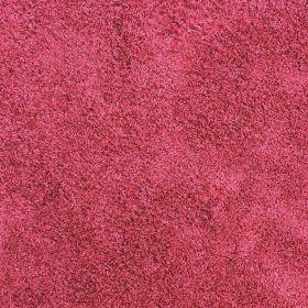 tapis shaggy rond rouge 4cm flair rugs