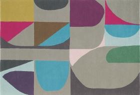 tapis harmony estella multicoloré - brink&campaman