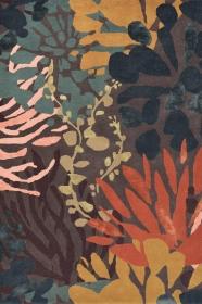 tapis submarine estella multicolore - rouge - brink&campaman