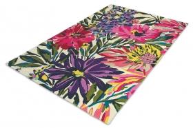 tapis floreale fuchsia harlequin - avalnico