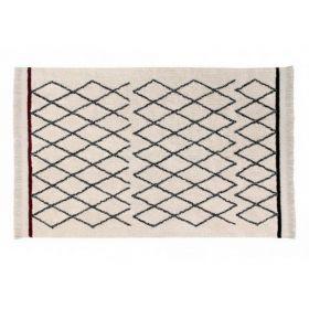 tapis lavable crisscross 120x170 - lorena canals