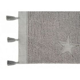 tapis lavable stars grey 120x175 - lorena canals