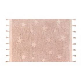 tapis lavable stars vintage nude 120x175 - lorena canals