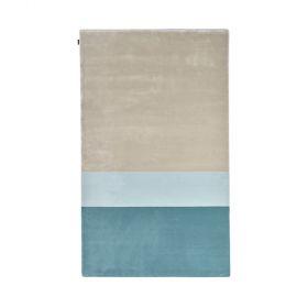 tapis moderne jean-françois d\'or bleu angelo