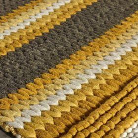 tapis moderne mood jaune angelo