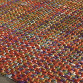 tapis moderne morrison rouge angelo