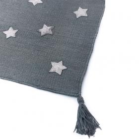 tapis pour enfant art for kids etoiles gris